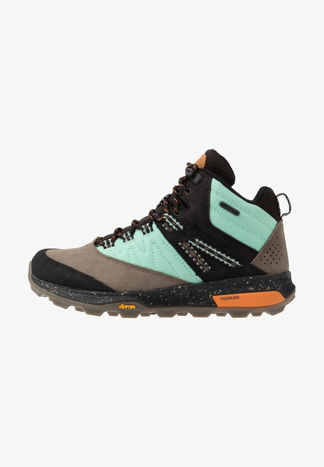 ZION MID WP X UNLIKELY HIKERS - Hiking shoes - wave