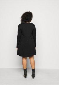 Even&Odd Curvy - Day dress - black - 2
