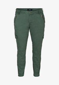 Zizzi - Cargo trousers - green - 2