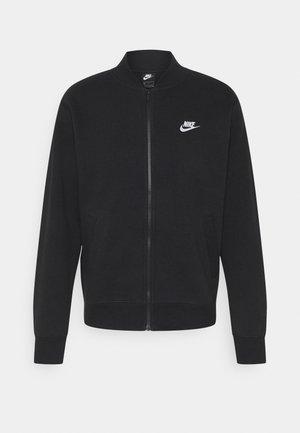 M NSW CLUB - Zip-up hoodie - black/white
