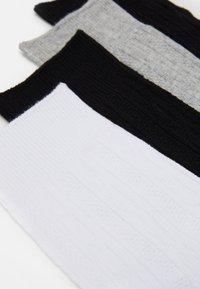 Vero Moda - VMJOSEFINE SOCKS 4 PACK - Ponožky - black - 1