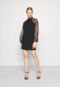 Pieces - PCNALLY DRESS - Cocktail dress / Party dress - black - 0