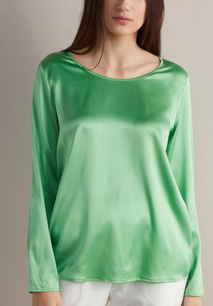 Long sleeved top - verde mela