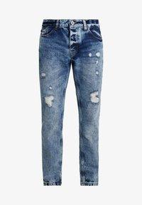 Piazza Italia - Jeans Slim Fit - blue denim - 4