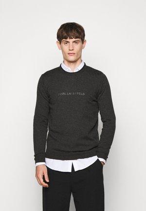 CREWNECK - Sweter - anthracite
