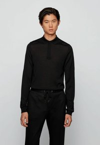 BOSS - DIBARI - Polo shirt - black - 2