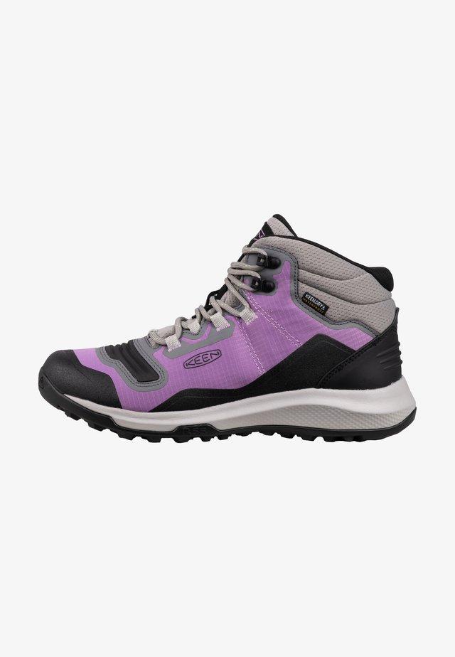 Chaussures de marche - african violet/sharp green
