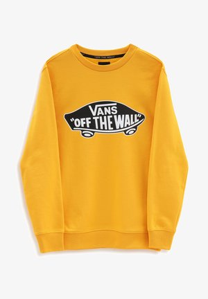 BY OTW CREW BOYS - Sweatshirt - saffron