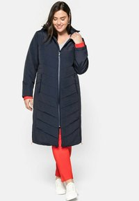 Sheego - Cappotto invernale - nachtblau - 1