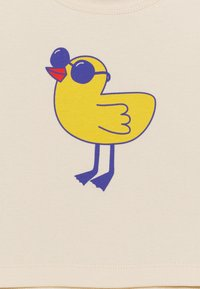 TINYCOTTONS - TINY BIRD BABY TEE UNISEX - Print T-shirt - light cream/yellow - 2