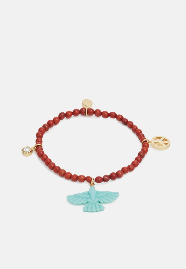 EAGLE BEADED BRACELET - Pulsera - gold-coloured