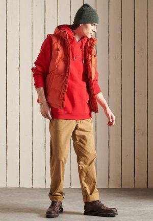 EVEREST - Waistcoat - bold orange