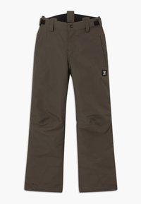 Brunotti - FOOTSTRAP LOGO BOYS - Zimní kalhoty - pine grey - 2