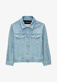 Uterqüe - Denim jacket - blue - 5