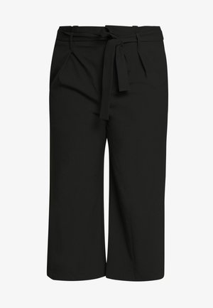 CARICOLE CULOTTE WIDE PANTS - Trousers - black