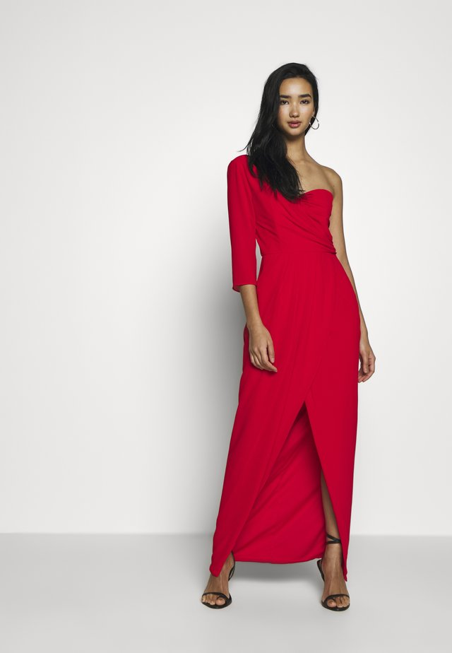 HESPER MAXI WRAP - Occasion wear - firy red