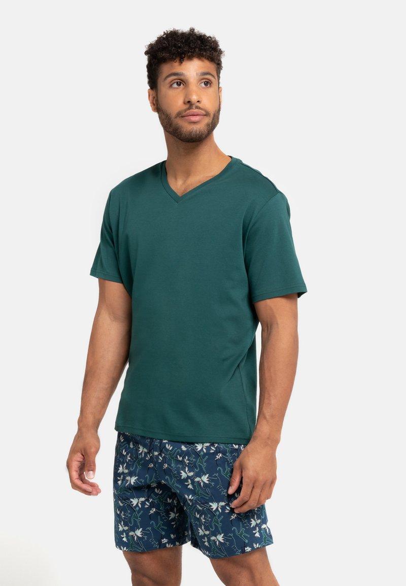 Schiesser - Pyjama set - grün