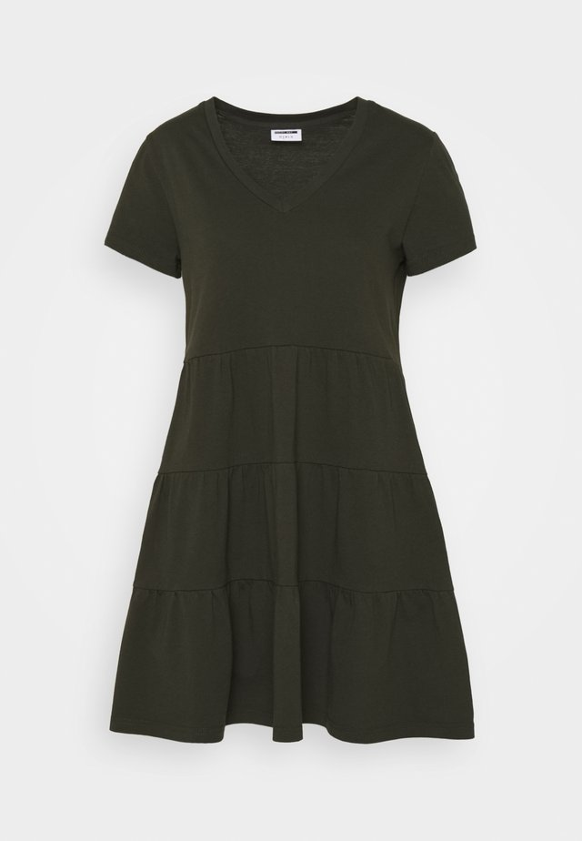 NMMARBLE LEE DRESS  - Sukienka letnia - rosin