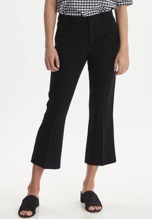 IXLEXI CROPPED - Trousers - black