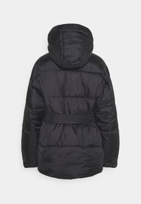 Missguided Tall - SELF BELTED PUFFER - Winter jacket - black - 1