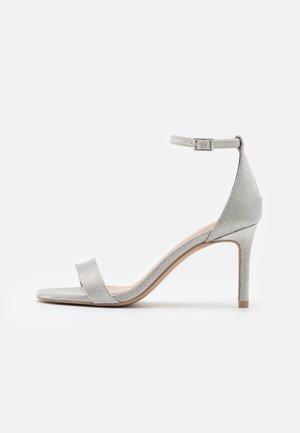 ELLA - High heeled sandals - silver