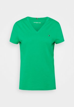 NEW VNECK TEE - Basic T-shirt - primary green