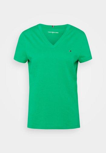 NEW VNECK TEE - Basic T-shirt - primary green