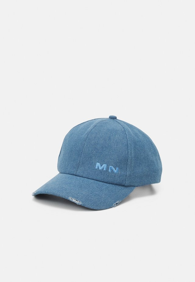 DISTRESSED UNISEX - Cap - blue