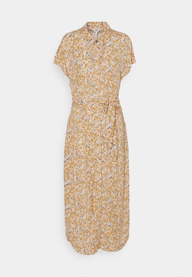 OBJMARIE DRESS - Maxi dress - honey mustard