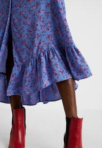 Ghost - ANOUK DRESS - Abito a camicia - blue - 7