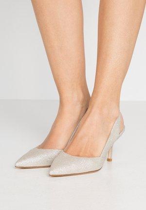 LEILANA  - Classic heels - platino fine glitter