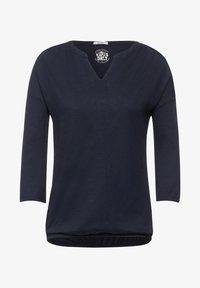 Cecil - Long sleeved top - blau - 3