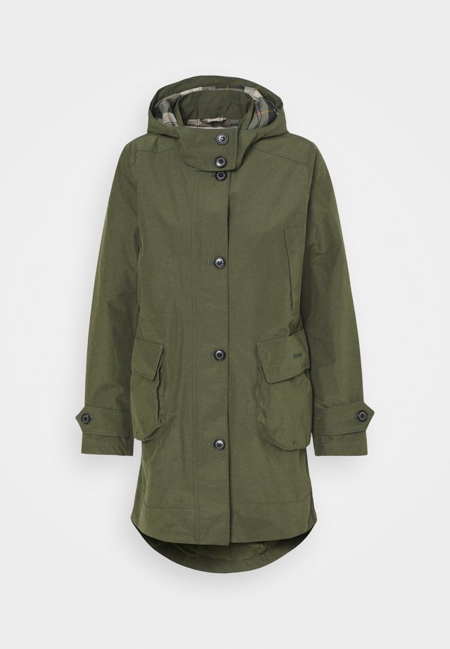 BARBOUR CAROLE JACKET - Parka - moss stone/ancient