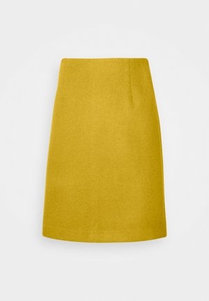 INGA - Pencil skirt - golden palm