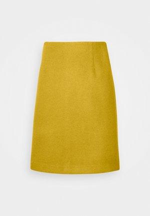INGA - Jupe crayon - golden palm