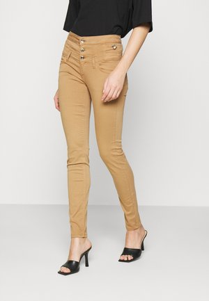 UP RAMPY - Trousers - tobacco brown
