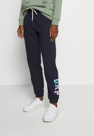 OMBRE - Tracksuit bottoms - navy
