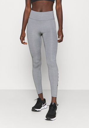 RUN - Legginsy - particle grey/light smoke grey/reflective silver