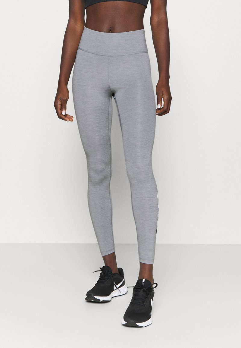 Nike Performance - RUN - Tights - particle grey/light smoke grey/reflective silver
