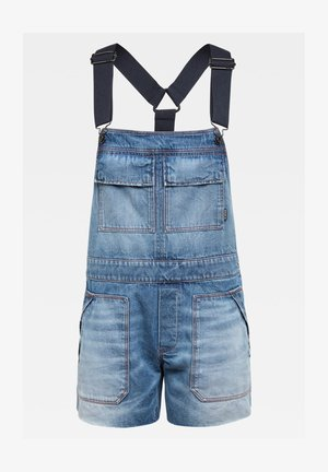 UTILITY BOYFRIEND  - Dungarees - sun faded crystal lake