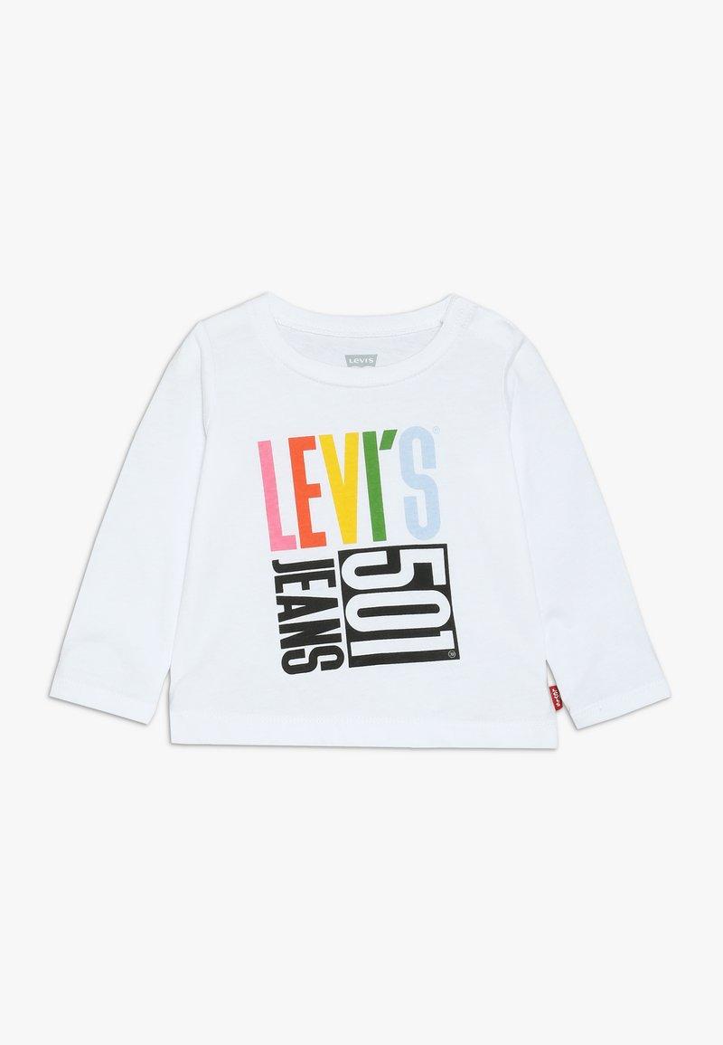 Levi's® - GRAPHIC TEE BABY  - Långärmad tröja - white