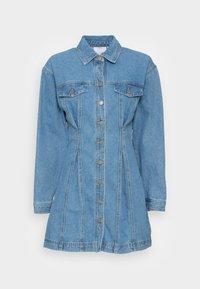 CONDITIONAL DRESS - Denimové šaty - blue denim