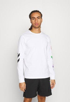 LOVE  - Maglietta a manica lunga - white/multicolor