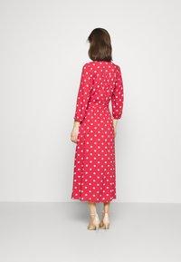 Freequent - Maxi dress - garnet rose/sand - 2