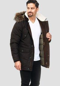 INDICODE JEANS - BAYNES - Winter coat - chocolate - 4