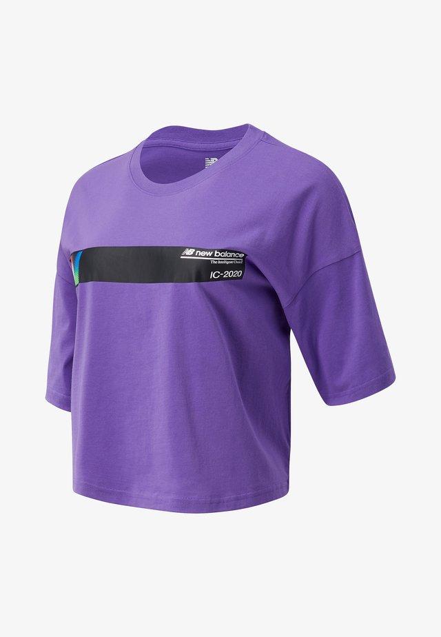 STYLE OPTIKS - T-shirt med print - mirage violet