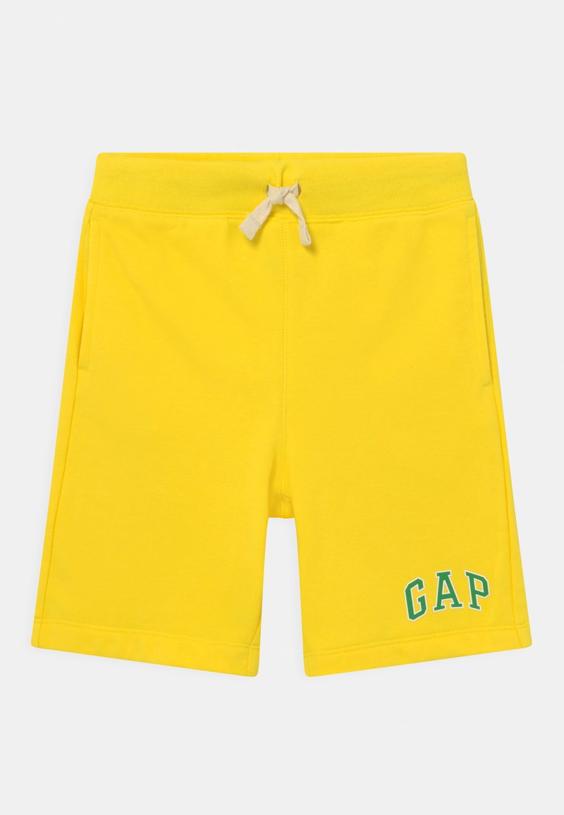 GAP - BOY LOGO  - Tracksuit bottoms - bright lemon meringue