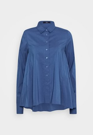CLEMANDE URBAN - Button-down blouse - smokey blue