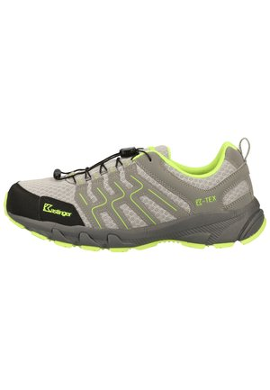 Hiking shoes - dk.grey/lime  208