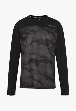 SYNCLINE - Sports shirt - black/dark ashcroft
